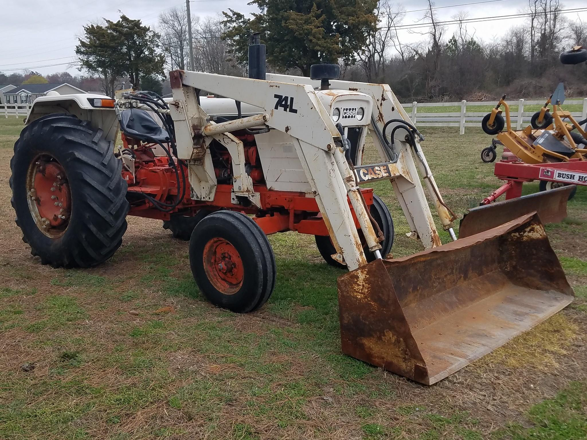 Case 1210 Tractor Parts : Case w loader david a banks